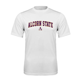 Syntrel Performance White Tee-Arched Alcorn State