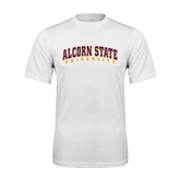 Syntrel Performance White Tee-Arched Alcorn State University