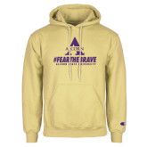 Champion Vegas Gold Fleece Hoodie-Fear the Brave