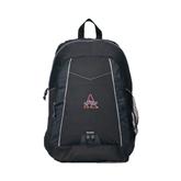 Impulse Black Backpack-Alcorn Official Logo