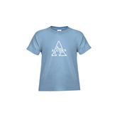Toddler Light Blue T Shirt-Alcorn Official Logo