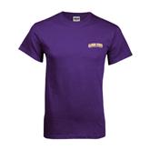 Purple T Shirt-Arched Alcorn State University