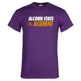 Purple T Shirt-Alcorn State Alumni