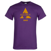 Purple T Shirt-Alcorn Dad