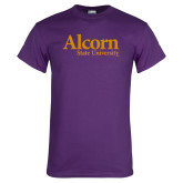 Purple T Shirt-Alcorn State University