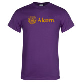 Purple T Shirt-Alcorn