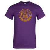 Purple T Shirt-Alcorn Seal
