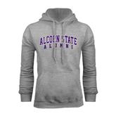 Alcorn Grey Fleece Hoodie-Alumni