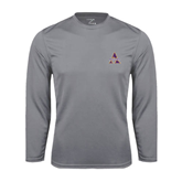 Syntrel Performance Steel Longsleeve Shirt-Alcorn Official Logo