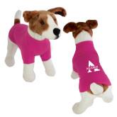 Classic Fuchsia Dog T Shirt-Alcorn A