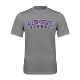 Alcorn Performance Grey Concrete Tee-Alumni