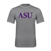 Alcorn Performance Grey Concrete Tee-ASU