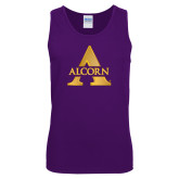 Purple Tank Top-Alcorn A