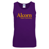 Purple Tank Top-Alcorn State University