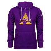 Adidas Climawarm Purple Team Issue Hoodie-Alcorn A