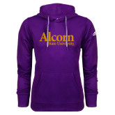 Adidas Climawarm Purple Team Issue Hoodie-Alcorn State University