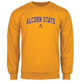 Gold Fleece Crew-Arched Alcorn State