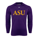 Under Armour Purple Long Sleeve Tech Tee-ASU