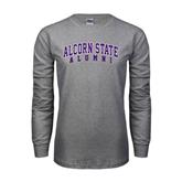 Grey Long Sleeve TShirt-Alumni