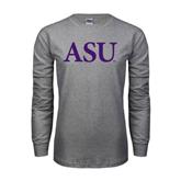 Grey Long Sleeve TShirt-ASU