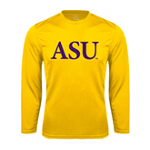 Syntrel Performance Gold Longsleeve Shirt-ASU