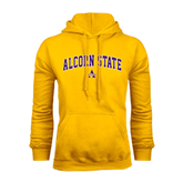 Alcorn Gold Fleece Hoodie-Arched Alcorn State