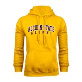 Alcorn Gold Fleece Hoodie-Alumni