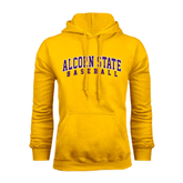 Alcorn Gold Fleece Hoodie-Baseball