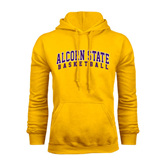 Alcorn Gold Fleece Hoodie-Basketball