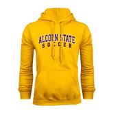 Alcorn Gold Fleece Hoodie-Soccer