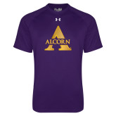 Under Armour Purple Tech Tee-Alcorn A