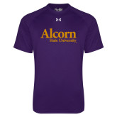 Under Armour Purple Tech Tee-Alcorn State University