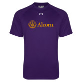 Under Armour Purple Tech Tee-Alcorn