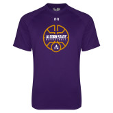 Under Armour Purple Tech Tee-Alcorn State Basketball