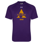 Under Armour Purple Tech Tee-Alcorn Dad