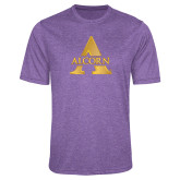 Performance Purple Heather Contender Tee-Alcorn A