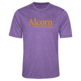 Performance Purple Heather Contender Tee-Alcorn State University