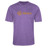 Performance Purple Heather Contender Tee-Alcorn