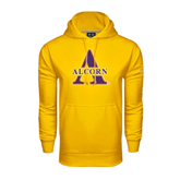 Under Armour Gold Performance Sweats Team Hoodie-Alcorn Official Logo