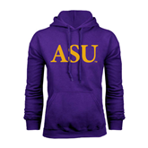 Alcorn Purple Fleece Hoodie-ASU