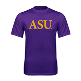 Syntrel Performance Purple Tee-ASU