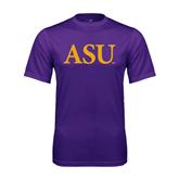 Syntrel Performance Purple Tee-ASU