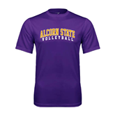 Syntrel Performance Purple Tee-Volleyball