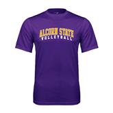 Syntrel Performance Purple Tee-Volleyball