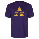 Performance Purple Tee-Alcorn A
