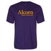 Performance Purple Tee-Alcorn State University