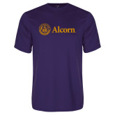 Performance Purple Tee-Alcorn
