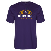 Performance Purple Tee-Alcorn State Football