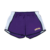 Ladies Purple/White Team Short-Arched Alcorn State University
