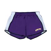 Ladies Purple/White Team Short-Arched Alcorn State University